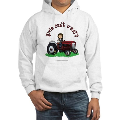 Light Red Farmer Hooded Sweatshirt