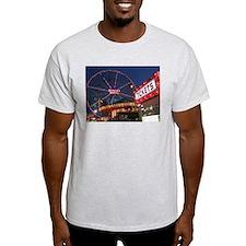 Wonder Wheel at Night T-Shirt