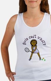 Dark Tennis Women's Tank Top