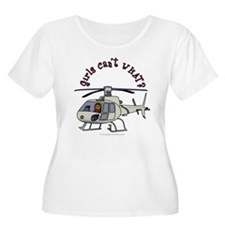 Dark Helicopter Pilot T-Shirt