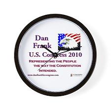 Dan Frank - constitution Wall Clock