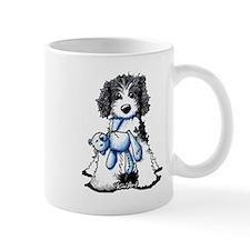 B/W Parti Doodle Mug