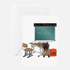 Cairn Terrier Obedience Greeting Card
