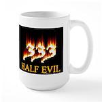 Half Evil Large Mug
