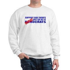 Say No To Defeatocrats Sweatshirt
