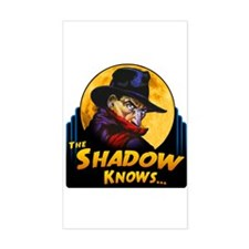 """The Shadow Knows..."" Decal"