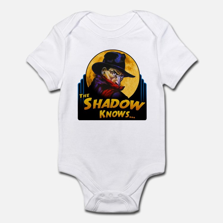 """The Shadow Knows..."" Infant Bodysuit"