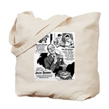 Jack Benny Tote Bag