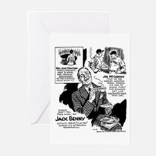 Jack Benny Greeting Cards (Pk of 20)