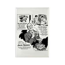 Jack Benny Rectangle Magnet (10 pack)