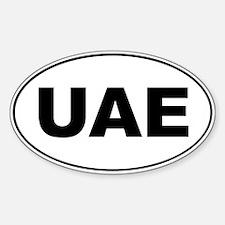 UAE Oval Decal