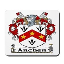 Archer Coat of Arms Mousepad