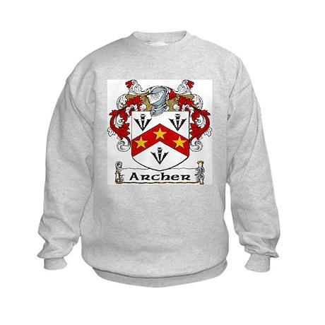 Archer Coat of Arms Kids Sweatshirt