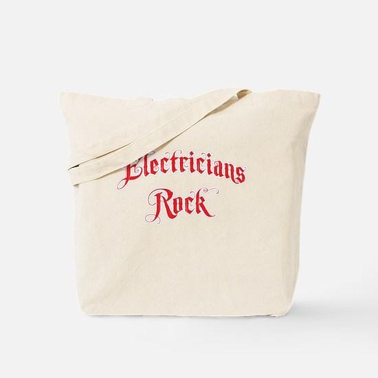 Electricians Rock Tote Bag