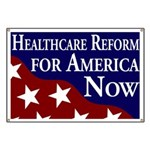 Healthcare Reform for America Banner