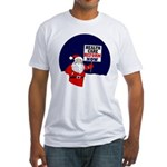 Santa for Health Care Reform Fitted T-Shirt