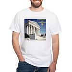 La Corte Suprema White T-Shirt