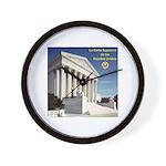 La Corte Suprema Wall Clock