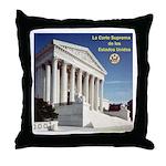 La Corte Suprema Throw Pillow