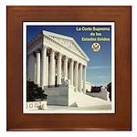 La Corte Suprema Framed Tile