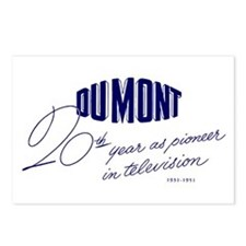 DuMont Postcards (Package of 8)