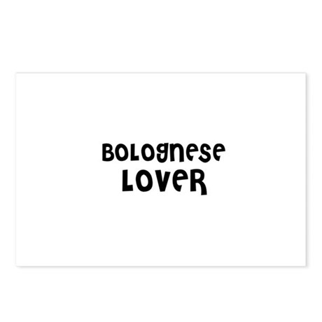 BOLOGNESE LOVER Postcards (Package of 8)