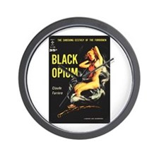 "Wall Clock - ""Black Opium"""