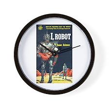 """Wall Clock - """"I, Robot"""""""