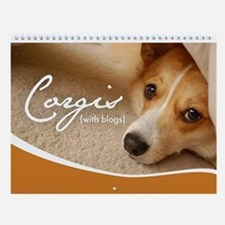1st Annual Corgis (with blogs) Wall Calendar