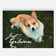 Just Gibson - Pembroke Welsh Corgi Wall Calendar