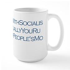 Coffee Mugw/ Margaret Thatcher on Socialism