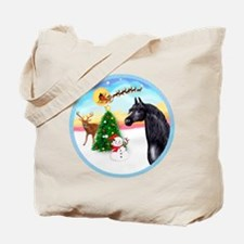 TakeOff2/Horse (Ar-blk) Tote Bag