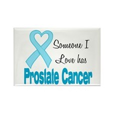 Someone I love Prostate Cance Rectangle Magnet