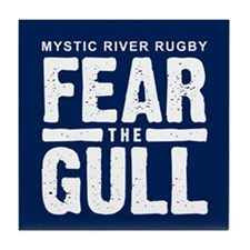 """""""Fear The Gull"""" Tile Coaster"""