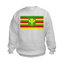 Kanaka Maoli Flag Sweatshirt