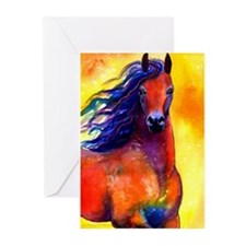 Arabian horse Greeting Cards (Pk of 10)