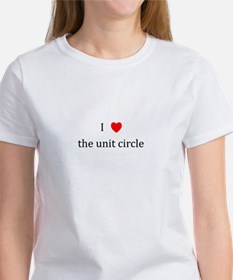 I Heart the unit circle Women's T-Shirt