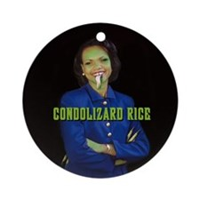 CONDOLIZARD RICE - Ornament (Round)