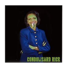 CONDOLIZARD RICE - Tile Coaster
