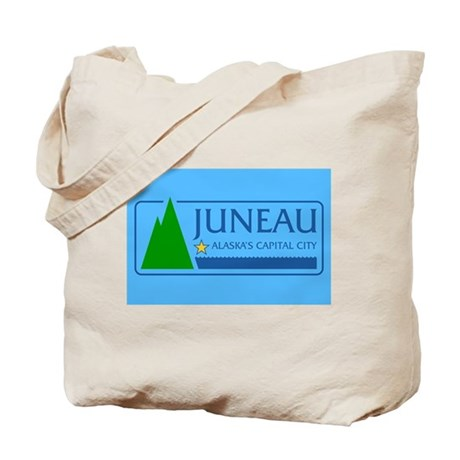 Juneau Flag Tote Bag