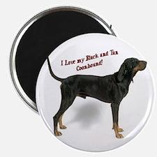 I Love my B&T Coonhound Magnet