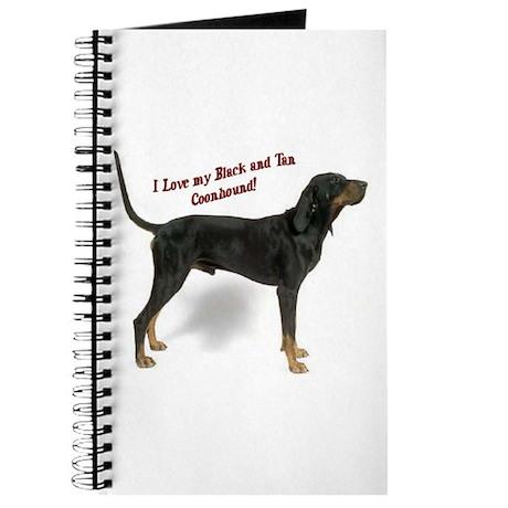 I Love my B&T Coonhound Journal