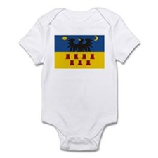 Transsylvanian Flag Infant Bodysuit