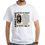 Ticket To Heaven White T-Shirt
