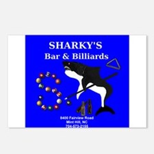 SHARKY'S BAR & BILLIARDS Postcards (Package of 8)