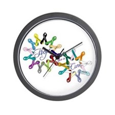 Hope For A Cure Wall Clock