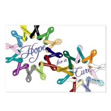 Hope For A Cure Postcards (Package of 8)