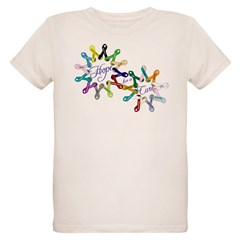 Hope For A Cure Organic Kids T-Shirt
