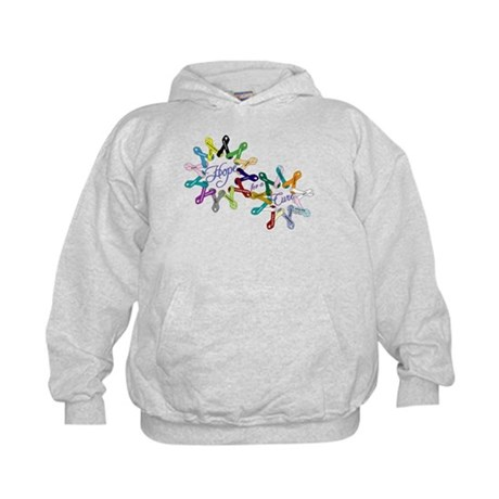 Hope For A Cure Kids Hoodie