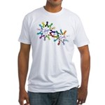 Hope For A Cure Fitted T-Shirt